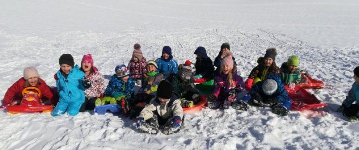 SOVICE – Uživanje na snegu